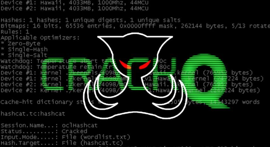CrackQ, the new tool for hacking passwords with Hashcat