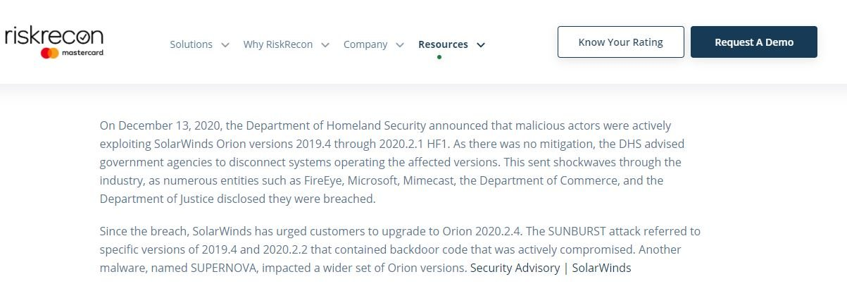 Thousands of SolarWinds Orion implementations remain exposed to dangerous cyberattacks