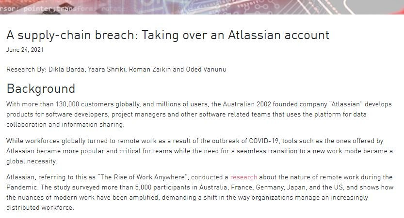XSS, CSRF, and one-click account takeovers vulnerabilities in Atlassian