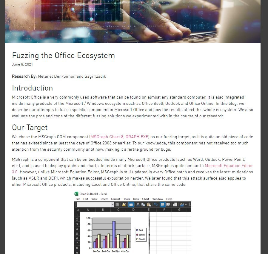 Remote code execution vulnerability in Microsoft Excel allows hackers to take control of your network. 4 critical vulnerabilities in legacy Office. Patch now