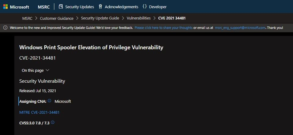 New third unpatched zero-day vulnerability in Windows Print Spooler was discovered